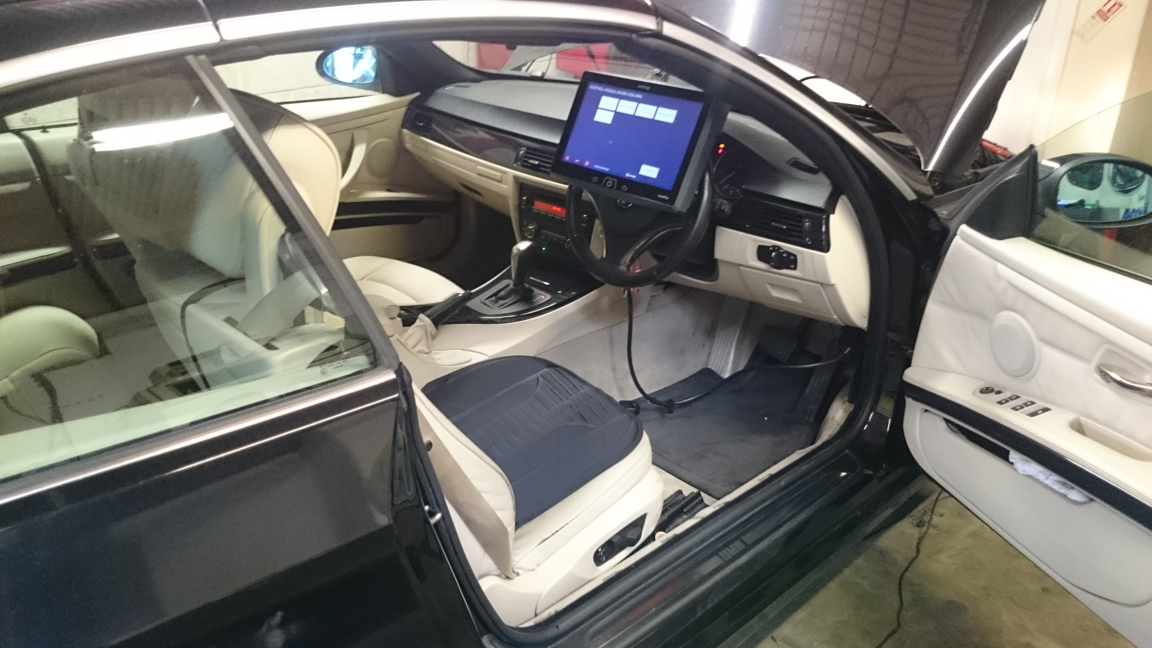 2009 Bmw 3 Series Car Electrics Repairs Footwell Module Location