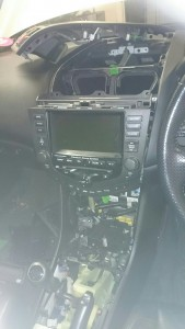 The Bluetooth module was buried deep behind the centre console.