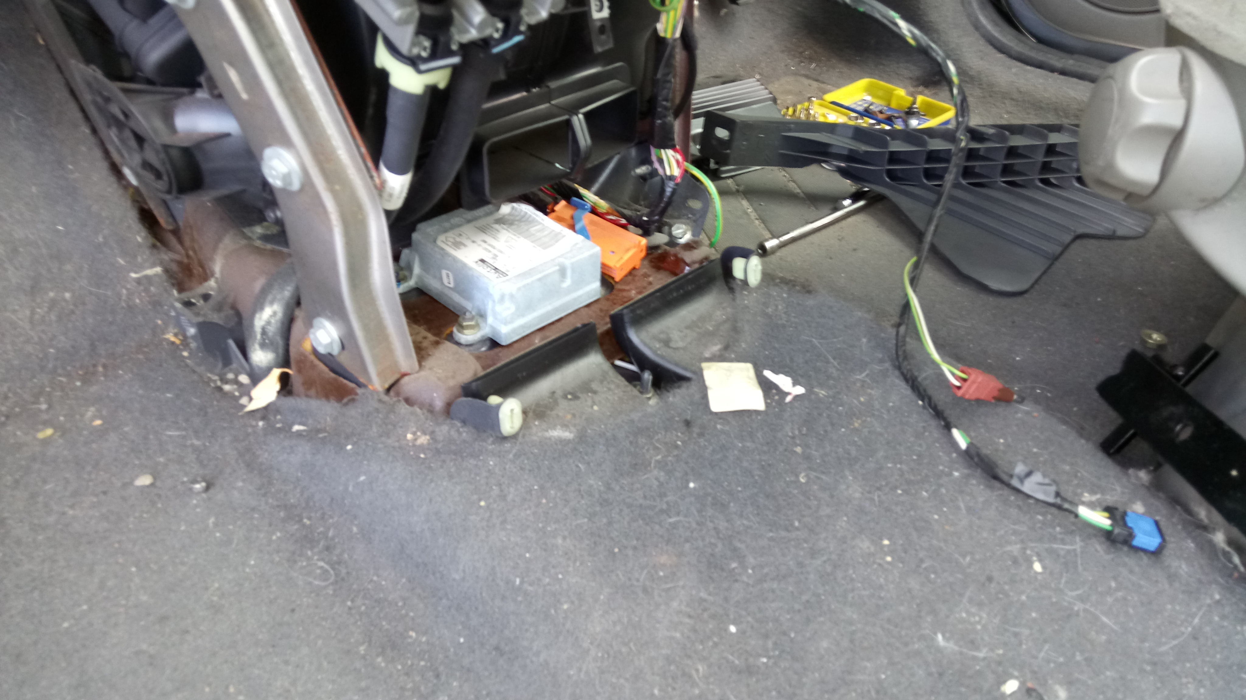XSARA PICASSO Airbag fault - Car Electrics & Repairs