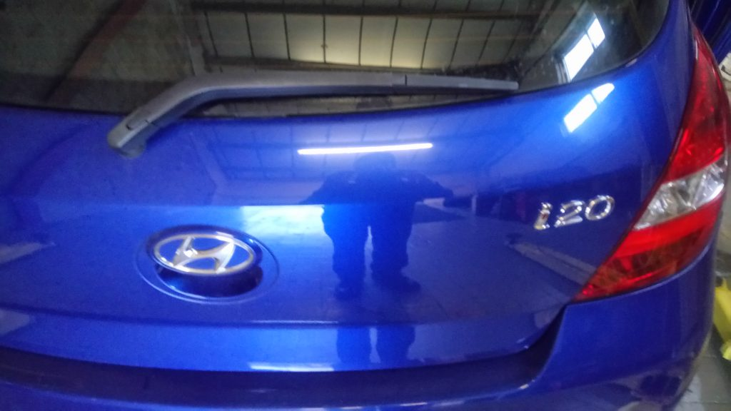 Hyundai I20 No Heated Rear Screen